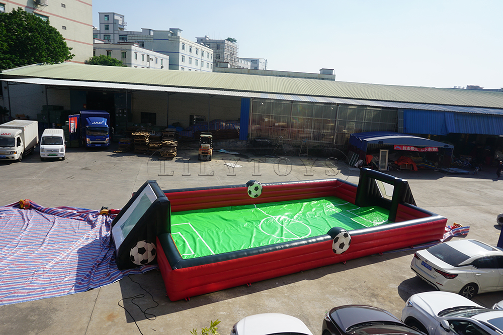 inflatable football area for kids