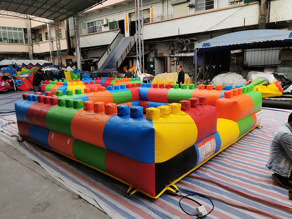 inflatable ball pit foam pit
