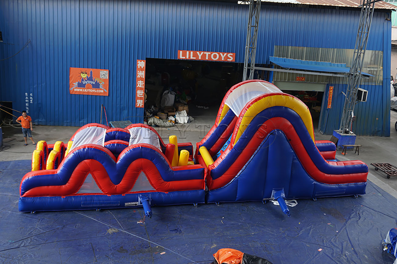 inflatable standard obstacle games