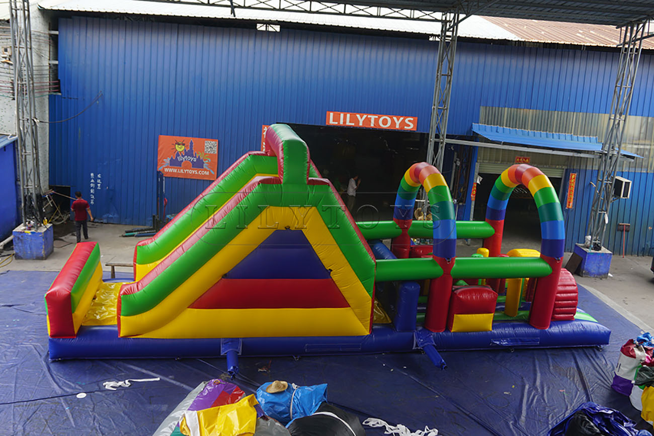 hot sale inflatable obstacle course