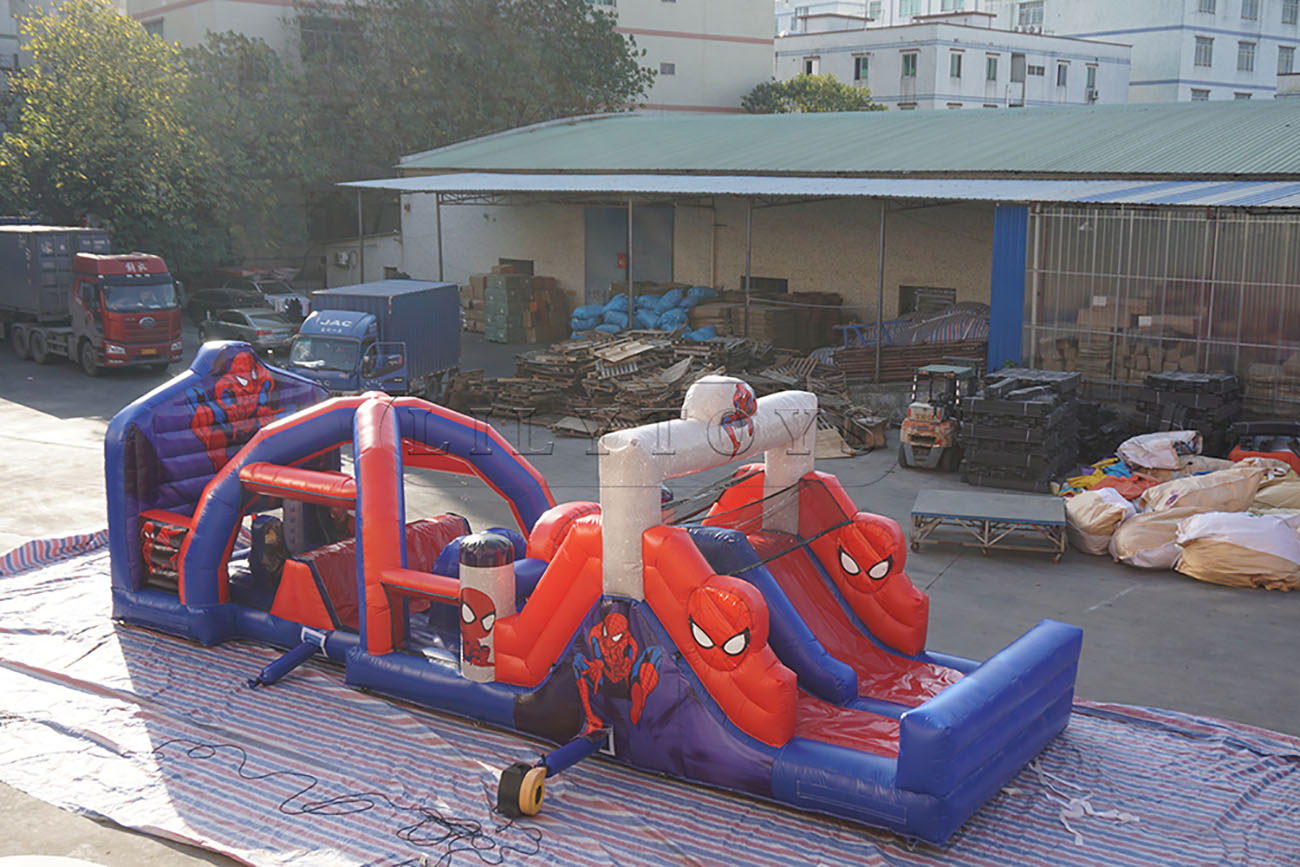 super hotsale obstacle course inflatable for kids