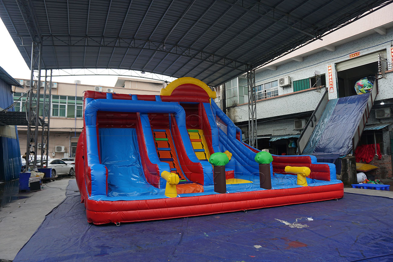 inflatable big water slide for the summer backyard