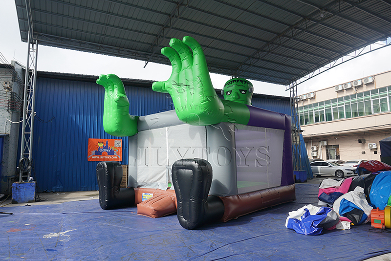 All Saints' Day  bounce house