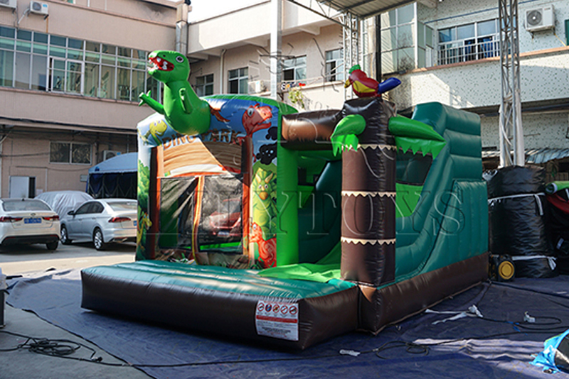dino inflatable jump house