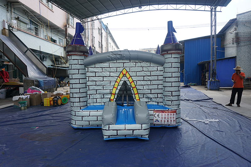 small inflatable castle