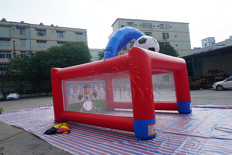 inflatable soccer goal