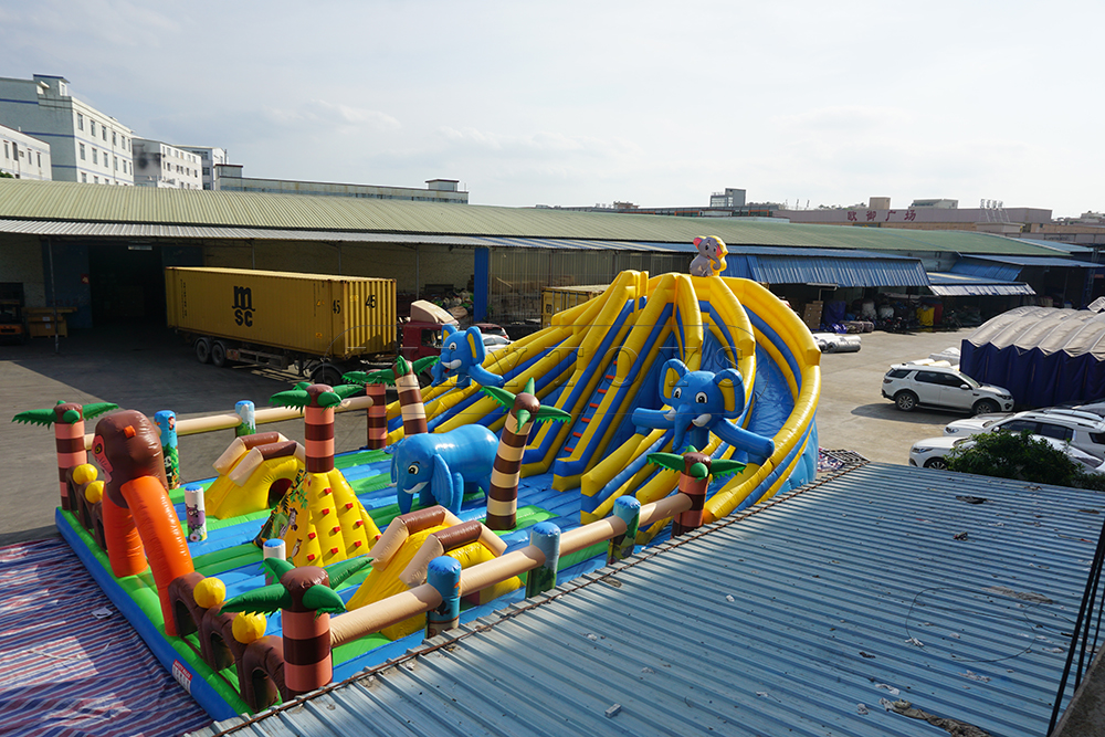 inflatable kids playground