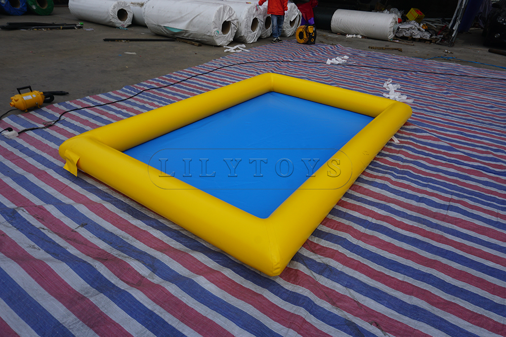 yellow swimming pool