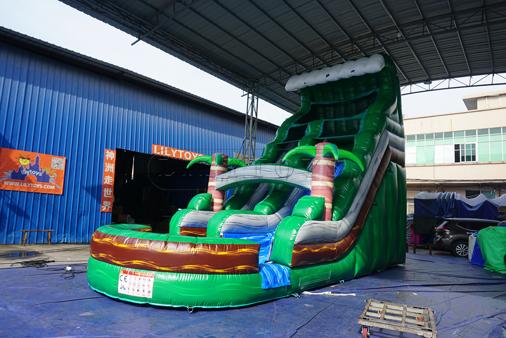 33ft commercial inflatable water slide