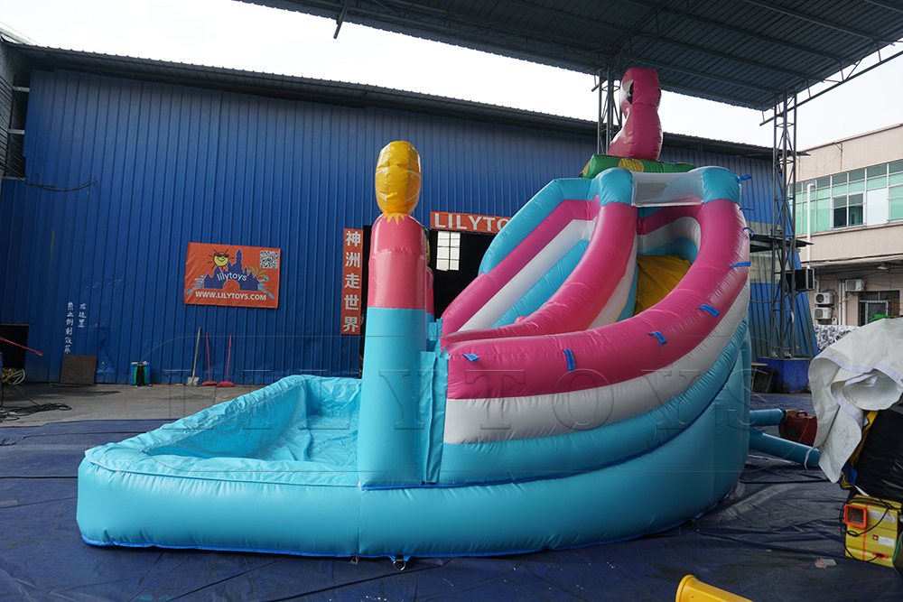 blowup water slide inflatable for kids