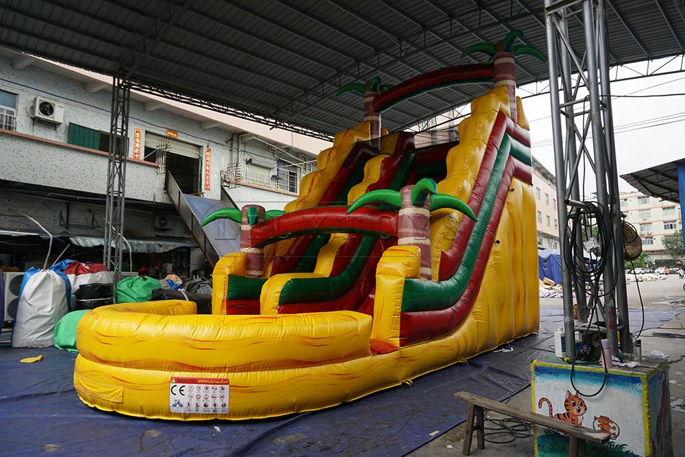 slide pool inflatable water
