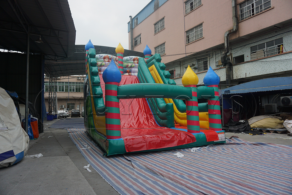 princess inflatable slide for commercial
