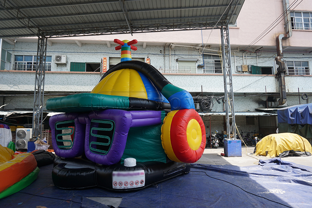 disco dome inflatable bounce