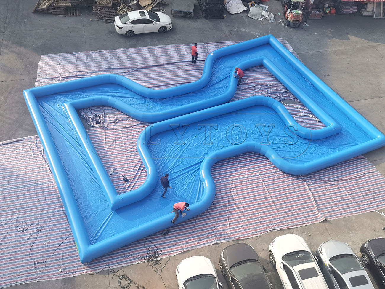 inflatable Drifting channel pool