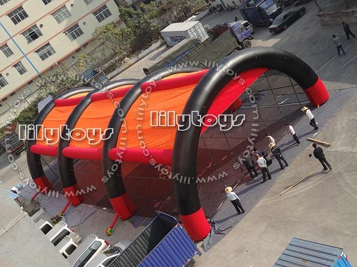 inflatatable tent for bunker paintabll