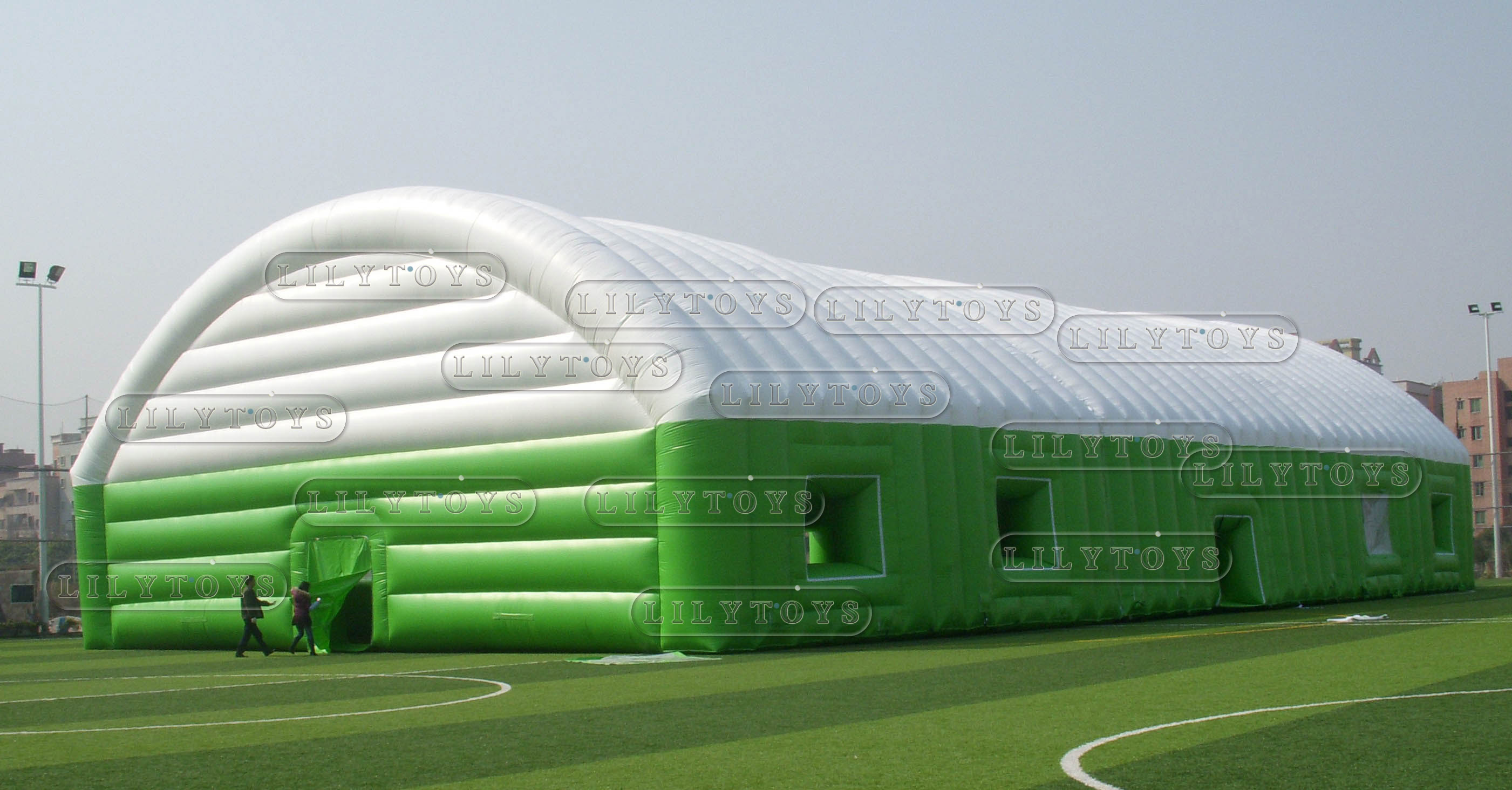 inflatable big tent for football