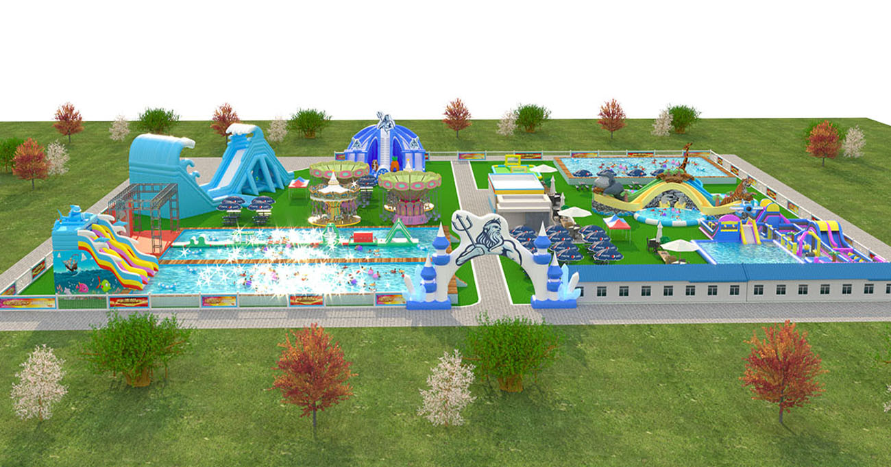 giant inflatable water park equipment