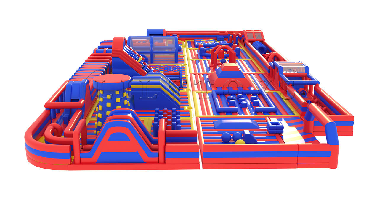 indoor inflatable obstacle course for kids