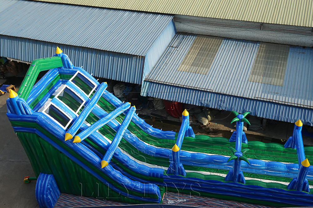 green giant  inflatable slide for adults