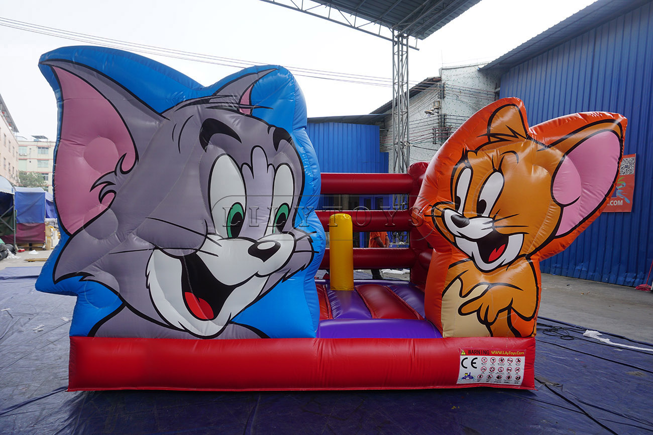 hot sale inflatable jumping inflatable trampoline bouncer for kids