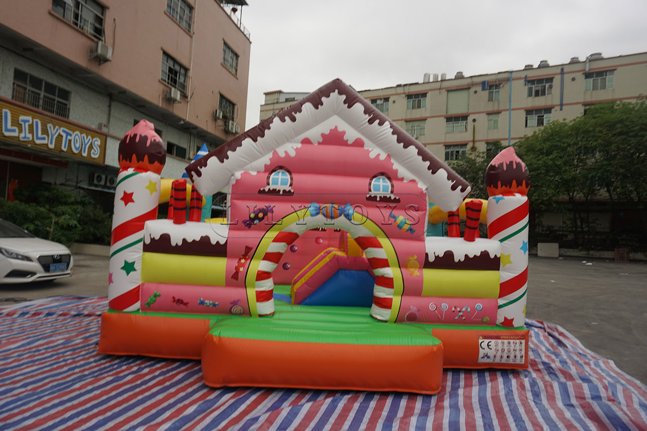 inflatable kids bounce playhouse jumping castle inflatable combo for sale