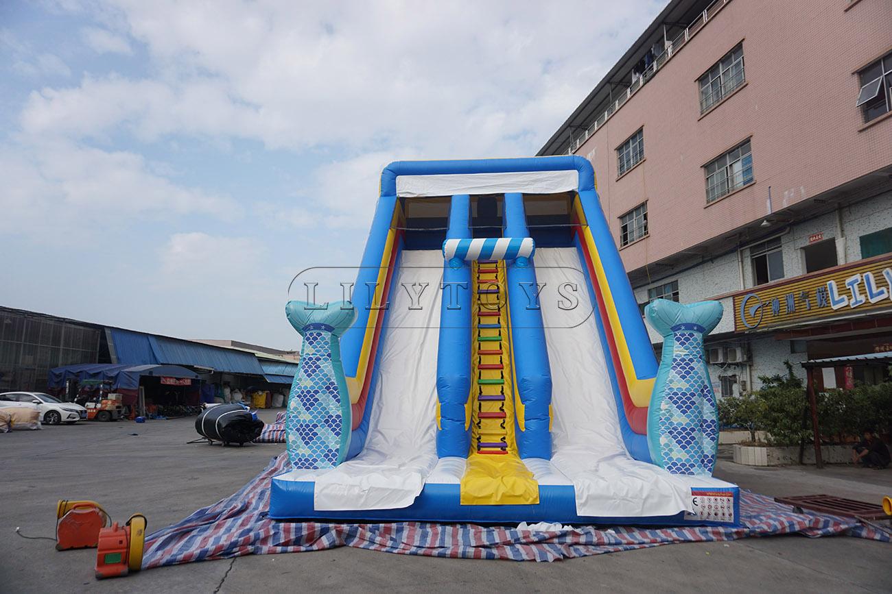 Mermaid Inflatable Slide
