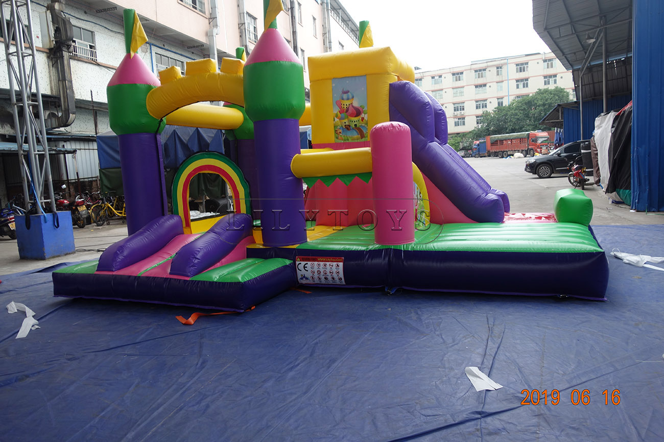 inflatable combo inflatable bounce house inflatable trampoline bouncer for kids