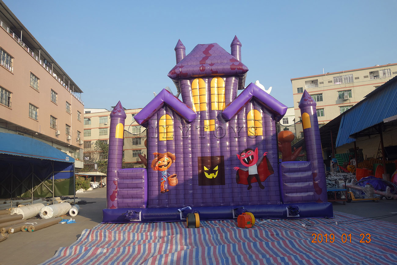 inflatable beautiful Halloween festival bouncer toddler playground