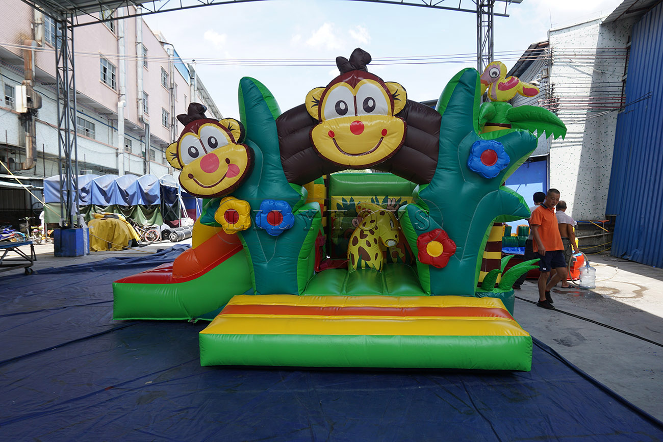 inflatable combo bounce house combo inflatable bounce house with slide