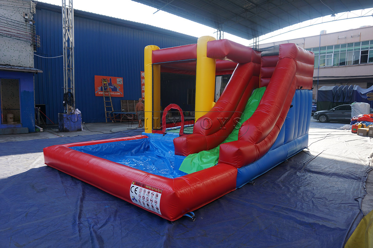 water slide inflatable kids bounce house