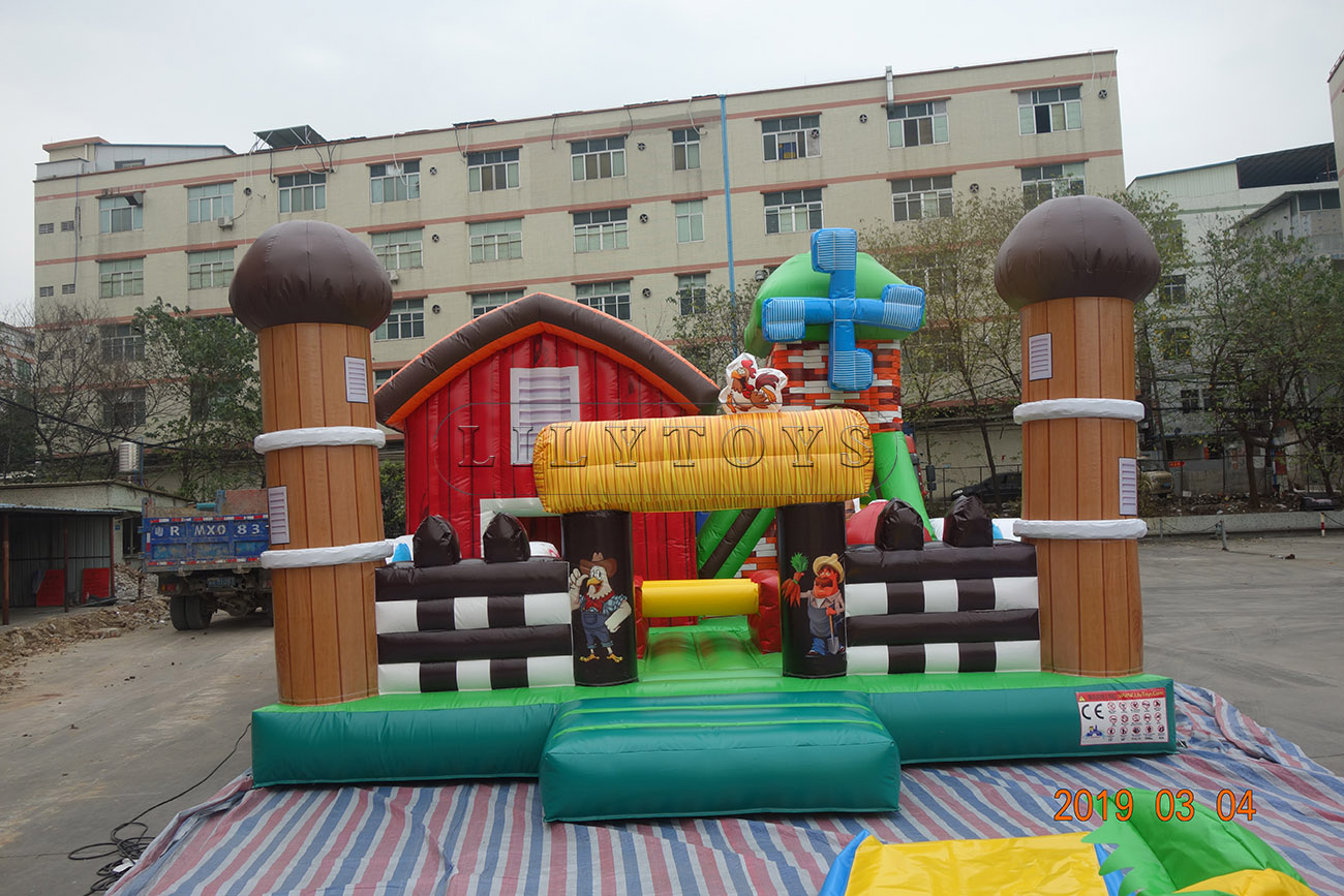 Bounce house large indoor inflatable bouncing castle