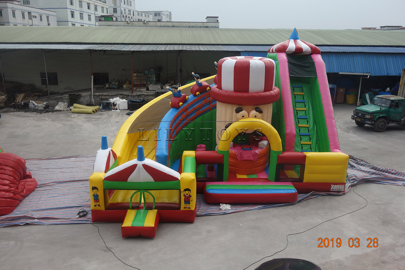 bounce house large inflatable moustache inflatable park