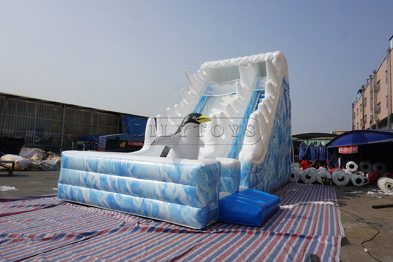 Arctic World Inflatable Slide for sale