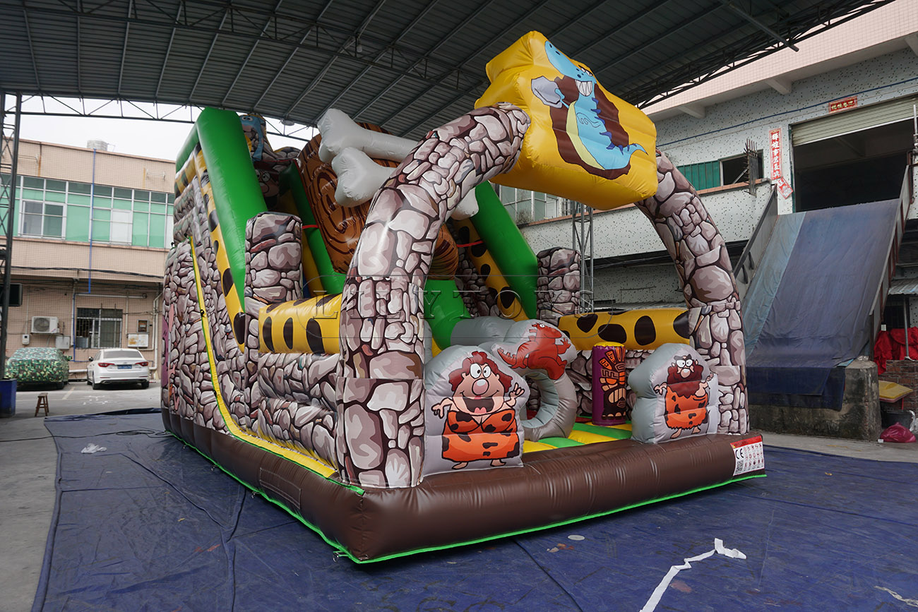inflatable slide bouncy bouncer