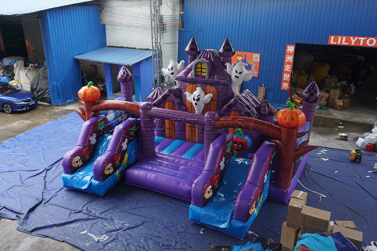 popular halloween inflatable bounce castle bounce house inflatable for sale