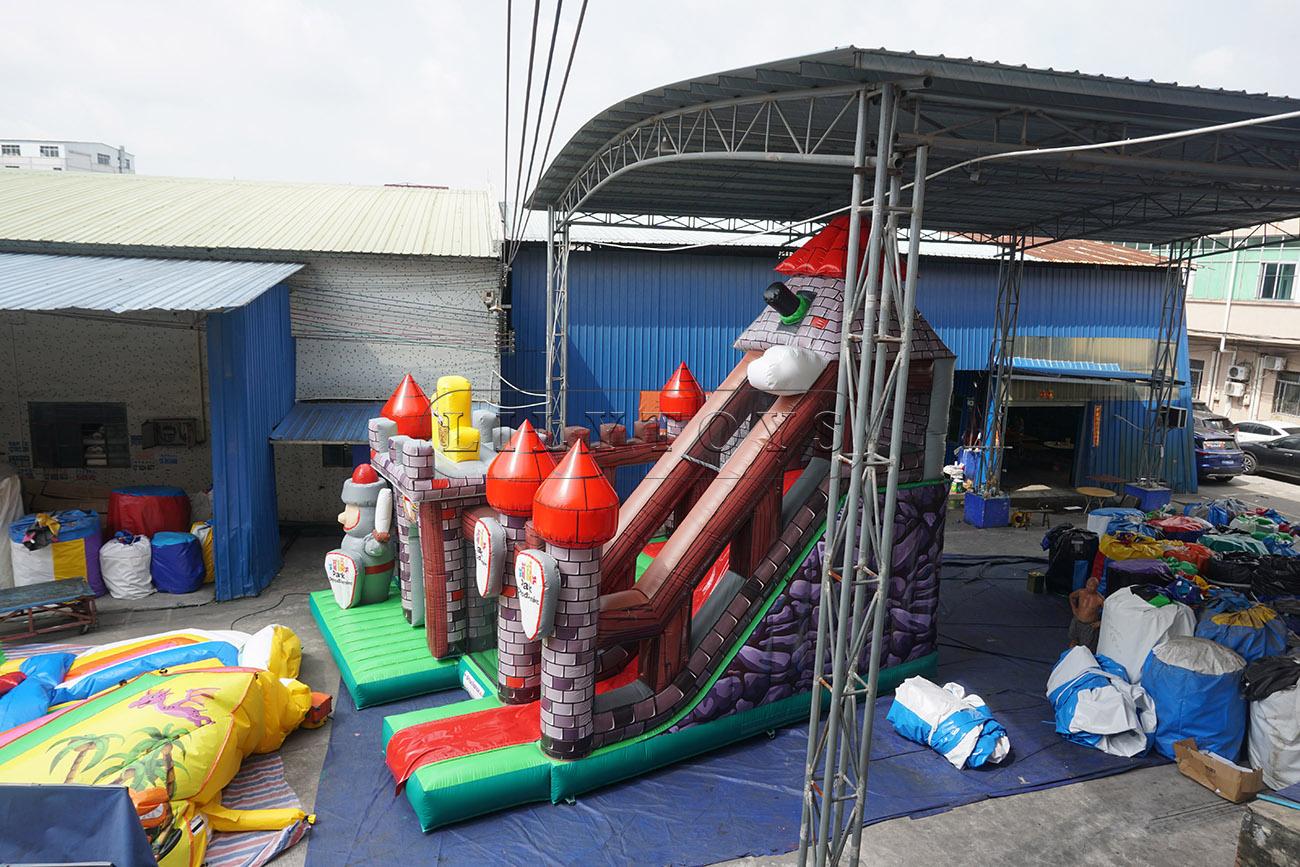 amusement park equipment bounce house large inflatable