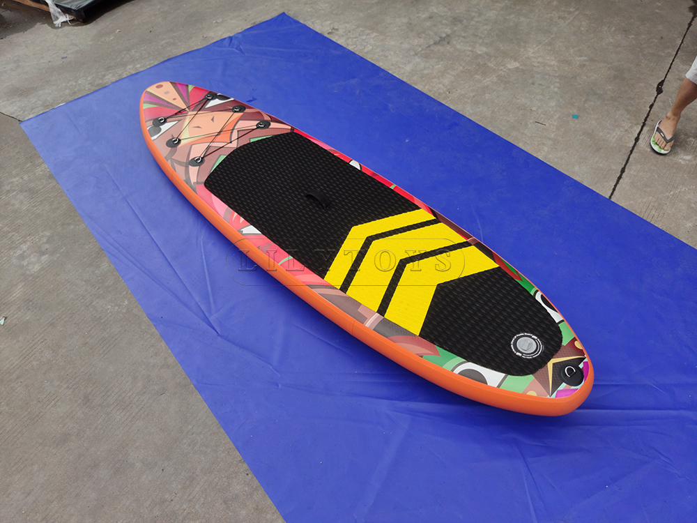 customized inflatable sup paddle board stand up paddle
