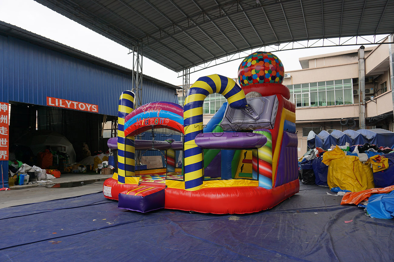 hot sale inflatable jumping inflatable bouncer jumper with multicolor
