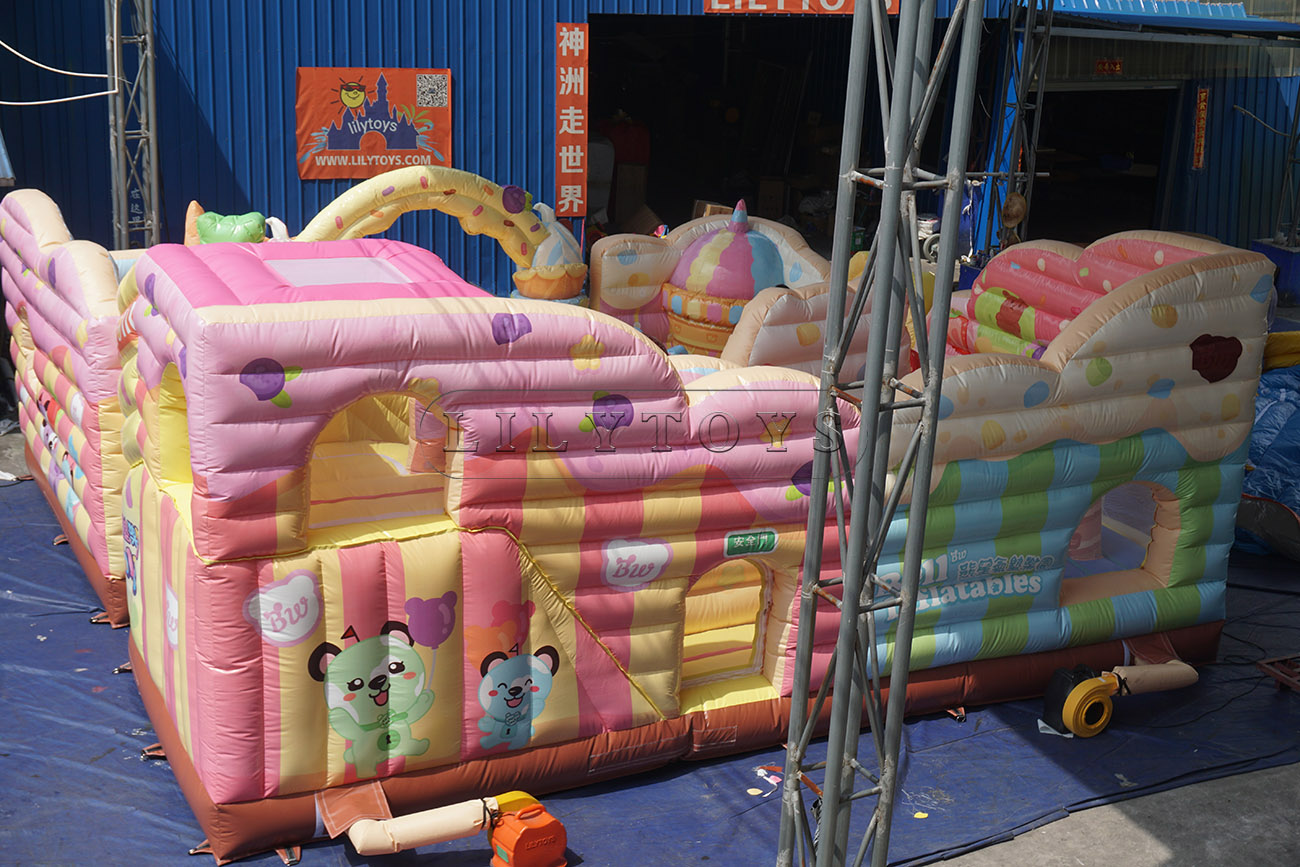 Inflatable playground for sale inflatable icescream park