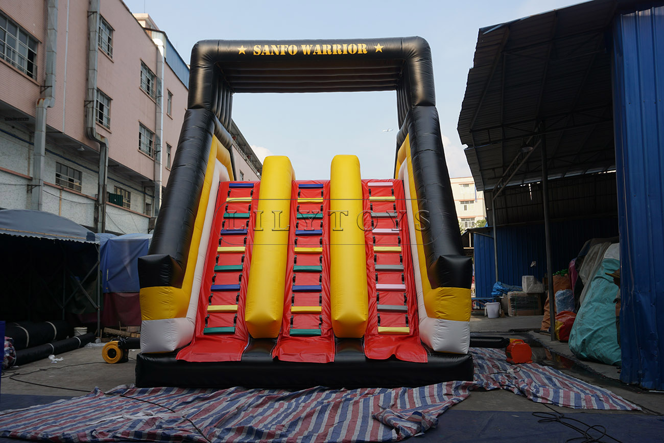 Obstacle slide for adults