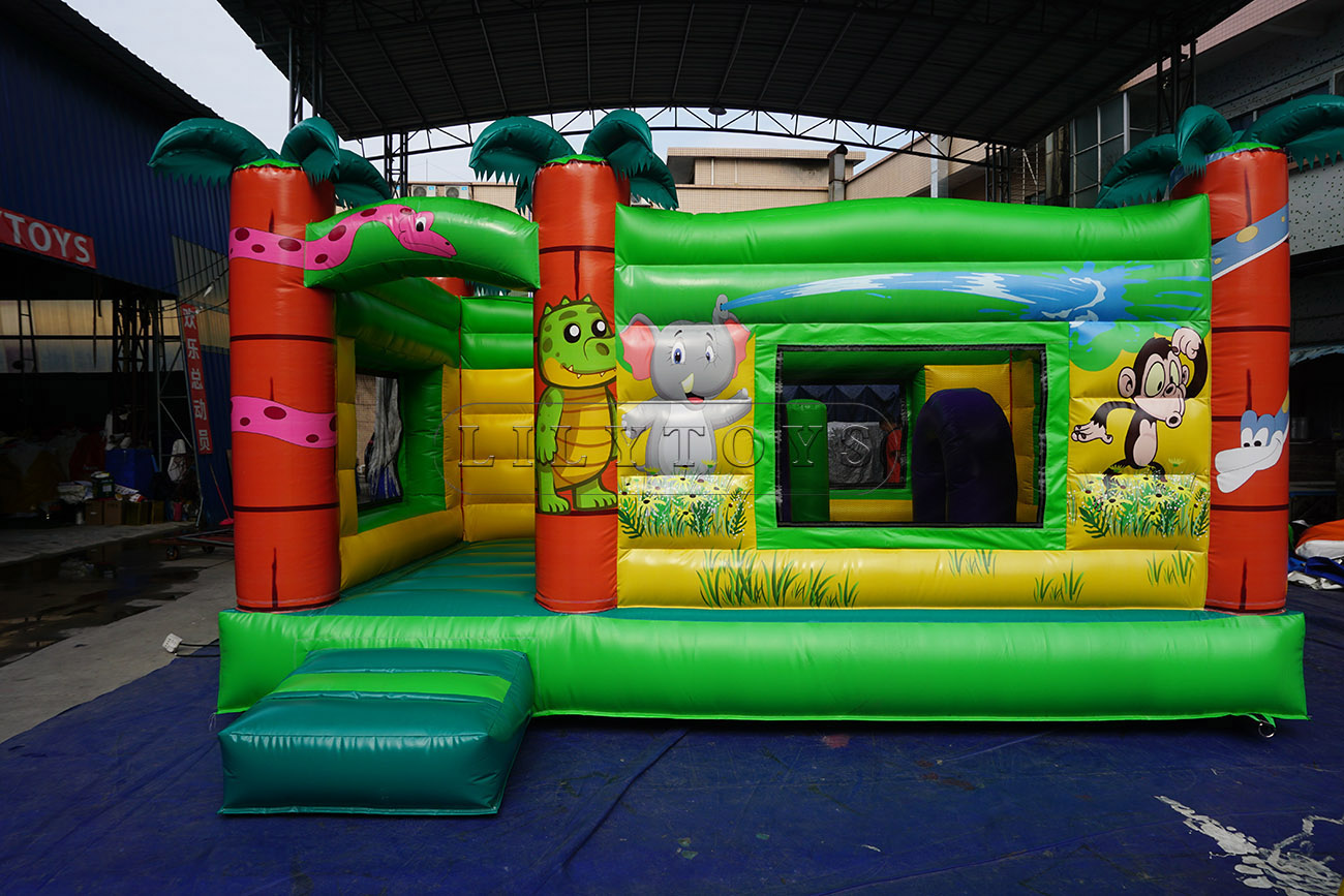 inflatable combo castle inflatable jumper bounces house for sale