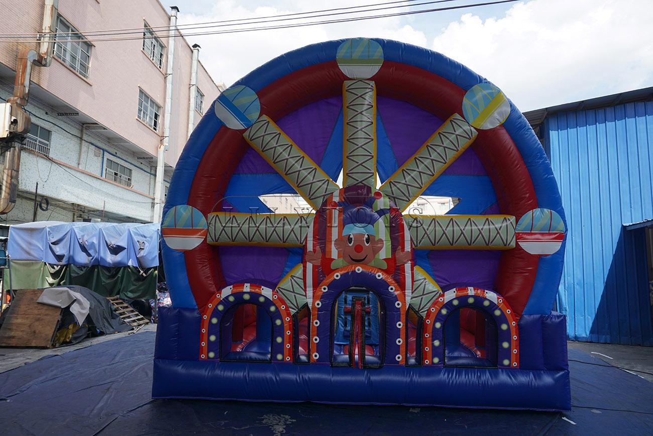new design inflatable trampoline bouncer inflatable bouncer jumper for sale